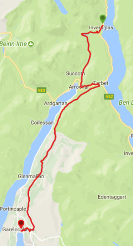 Three Lochs Way- Inveruglas to Garelochhead