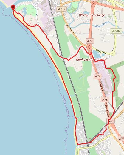 Irvine Beach & Shewalton