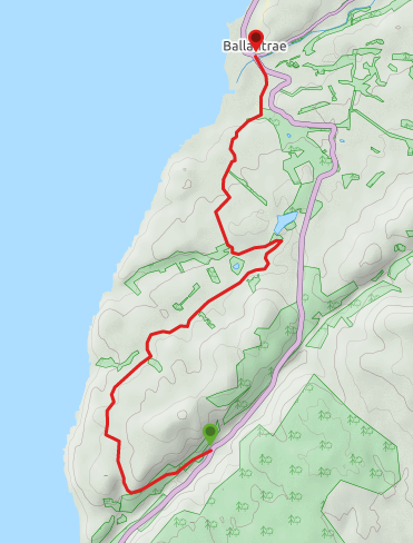 Glenapp to Ballantrae