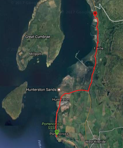 ACP Portencross to Largs