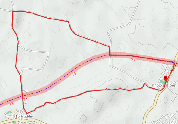 Knockentiber-Springside long