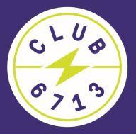 Club6713 Round Logo